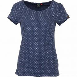 Ragwear Damen T-Shirt  Mint Dots indigo