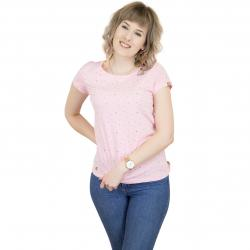 Ragwear Damen T-Shirt Mint Hearts pink