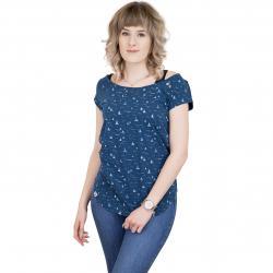 Ragwear T-Shirt Rosanna blau