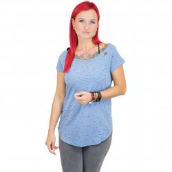 Ragwear Damen T-Shirt Rosanna lightindigo