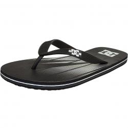 DC Shoes Flip-Flop Spray Graffik schwarz/graf