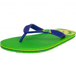 DC Shoes Flip-Flop Spray lime/blau