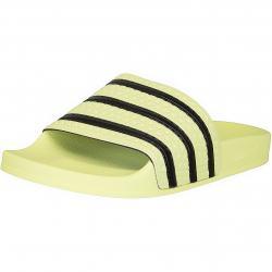 Adidas Originals Damen Badelatschen Adilette gelb/schwarz