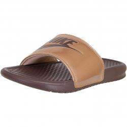 Nike Damen Sandalen Benassi Just Do It rot-bronze