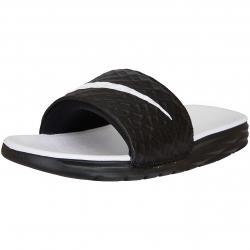 Nike Damen Badelatschen Benassi Solarsoft schwarz/weiß