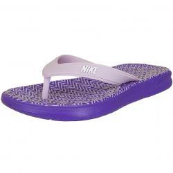 Nike Damen Flip-Flop Solay Thong Print lila/weiß