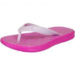 Nike Damen Flip Flops Solay Thong Print pink/weiß