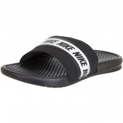 Nike Badelatschen Benassi schwarz/weiß