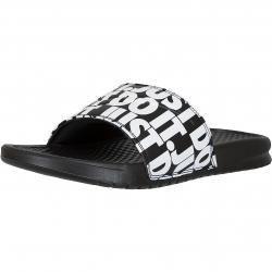 Nike Badelatschen Benassi JDI Print schwarz/weiß