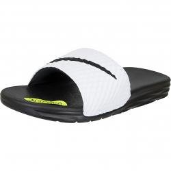Nike Sandalen Benassi Solarsoft 2 weiß/schwarz