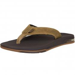 Reef Flip Flop Fanning Low Leather braun