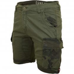Alpha Industries Shorts Camo Pocket dark olive