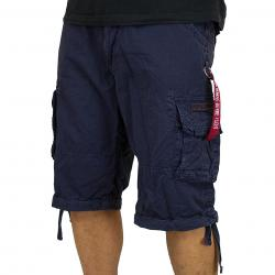 Alpha Industries Jet Shorts blau