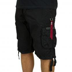 Alpha Industries Jet Shorts schwarz