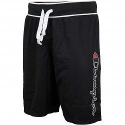 Champion Shorts Logo schwarz