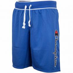 Champion Shorts Logo blau