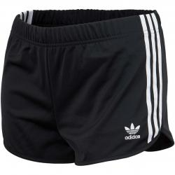 Adidas Originals Damen Shorts 3 Stripes schwarz