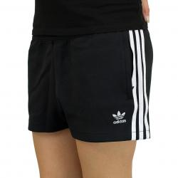 Adidas Originals Damen Shorts 3 Stripes schwarz