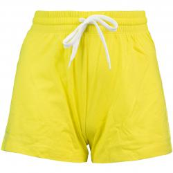 Champion Small Logo Damen Shorts gelb