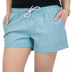 Iriedaily Damen-Shorts Chambray beryl