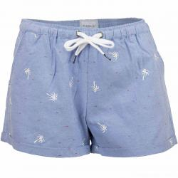 Iriedaily Damen Shorts Palmi blau