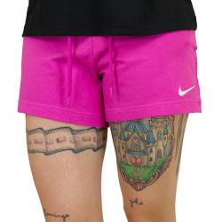 Nike Damen Shorts Jersey pink/weiß