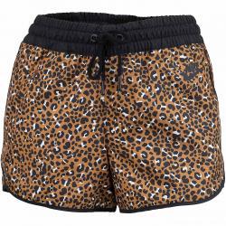 Nike Damen Shorts Woven braun/schwarz