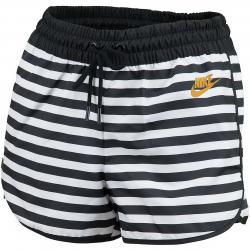 Nike Damen Shorts Woven weiß/schwarz