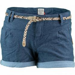 Ragwear Damen Shorts Heaven A blau