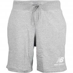 New Balance Shorts Essentials Stacked grau