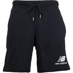 New Balance Shorts Essentials Stacked schwarz