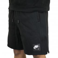 Nike Shorts Air Fleece schwarz/weiß