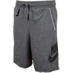 Nike Short Alumni French Terry dunkelgrau/schwarz