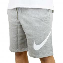 Nike Short Fleece EXP Club grau/weiß