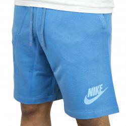 Nike Shorts Futura Washed HBR blau/weiß