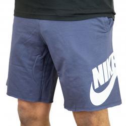 Nike Shorts GX1 French Terry blau/weiß