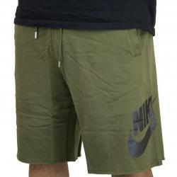 Nike Short GX1 French Terry oliv/schwarz