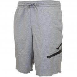 Nike Shorts Jordan Jumpman Logo Fleece grau/schwarz