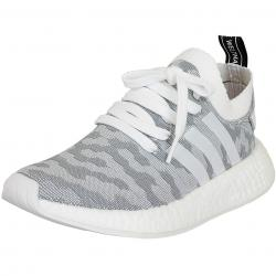 Adidas Originals Damen Sneaker NMD R2 Primeknit weiß/schwarz
