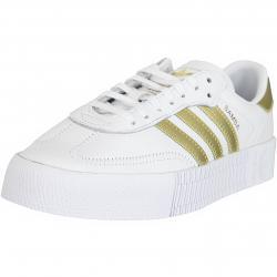 Adidas Originals Damen Sneaker Sambarose weiß/gold