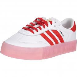 Adidas Sambarose Damen Sneaker Schuhe weiß/rot