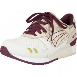 Asics Sneaker Gel-Lyte III beige/weinrot