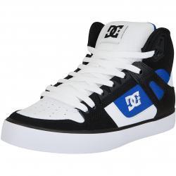 DC Sneaker Pure High WC weiß/blau/schwarz