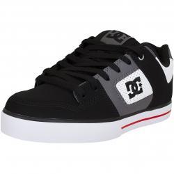 DC Shoes Sneaker Pure weiß/schwarz/rot