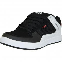DVS Shoes Sneaker Portal schwarz/weiß/rot