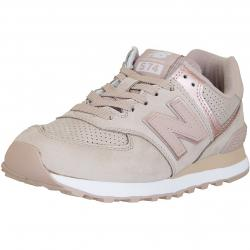 New Balance Damen Sneaker 574 Leder/Synthetik rose