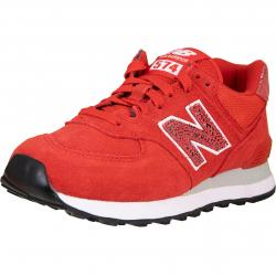 New Balance NB 574 Damen Sneaker rot