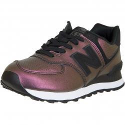 New Balance Damen Sneaker 574 Synthetik/Leder schwarz