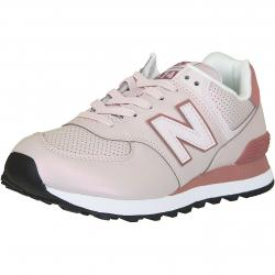 New Balance Damen Sneaker 574 Synthetik/Leder rosa