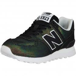 New Balance Damen Sneaker 574 Textil/Synthetik schwarz